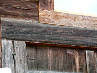 Inscription on their barn